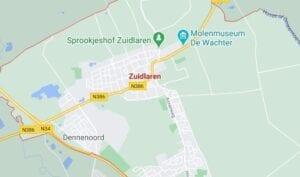 zuidlaren route beschrijving teststraten en test locaties van coronatest-dordrecht.com